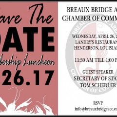 Save the Date Monthly Luncheon