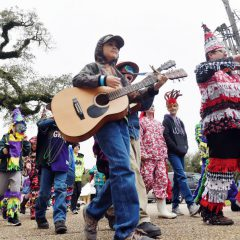 Breaux Bridge celebrates Childrens' Courir de Mardi Gras